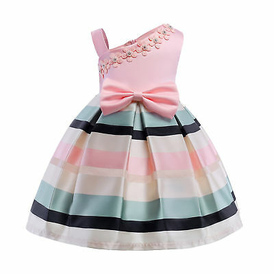 Flower Girl Dress Formal Princess Party Holiday Wedding Size 3 4 5 6 7 8 9 10