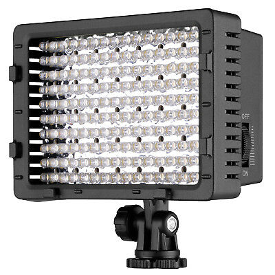 3 Pieces 160 LED CN-160 Dimmable On Camera LED Video Light