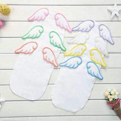 Baby Sweat Towel Infant Dry Wipe Cloth Angle Wings Back Gauze Absorb Towel 1PC Z