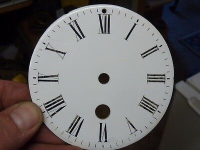 Old French Clock  Enamel Dial (Tk)