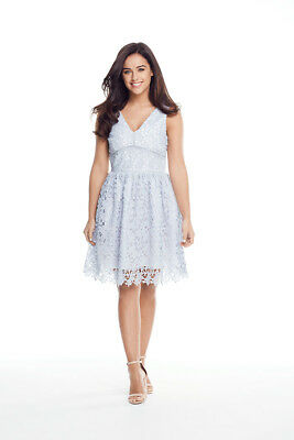 V by Very Petite Lace Prom Dress