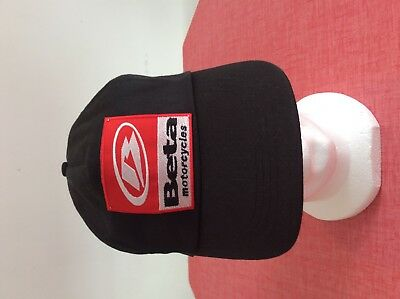Ca-A118 // Casquette Beta Motorcycles / Neuf / Taille Unique Adulte
