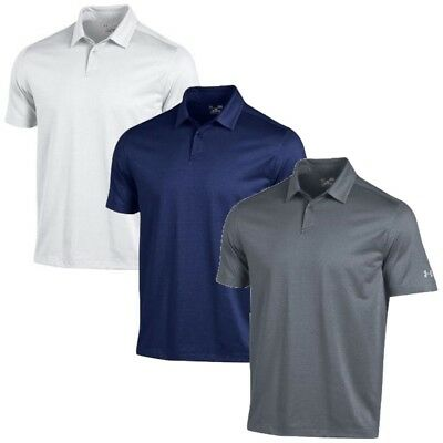 NEW Men's 2017 Under Armour Golf Microthread Polo Shirt - Choose Size & Color!