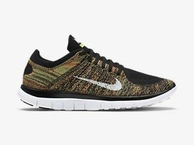 7617f8652a08c ... best price nike free 4.0 flyknit mens size 11 running athletic shoes  631053 006 multicolor 3db76