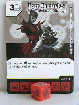 Dice Masters Civil War Pym Particles Dice x3