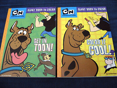 Scooby Doo Cartoon Network Coloring Book Set 2005 Dalmatian Press Unused