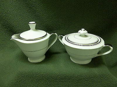 """Vtg.imperial China """"sincerity"""" Sugar Bowl & Creamer-Never Used"""