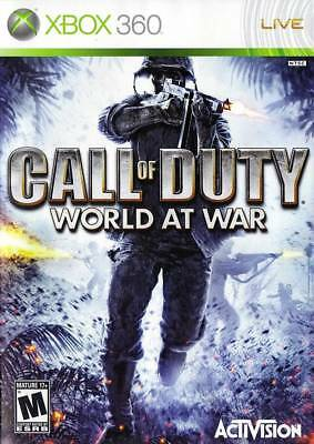 Call of Duty World at War - Xbox 360 video game DISC ONLY *Activision / Treyarch