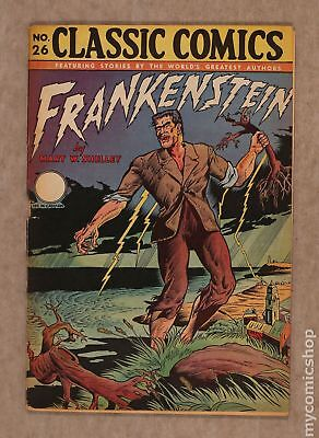 Classics Illustrated 026 Frankenstein #2A 1945 GD 2.0