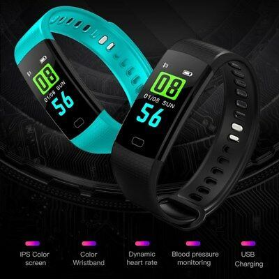 Blood Pressure/Oxygen Heart Rate Fitness Tracker Smart Bracelet Watch Wristband