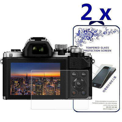 2-Pack For Olympus E-M10 Mark II Tempered Glass Screen Protector
