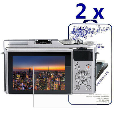 2-Pack For Fujifilm X-A10 / X-A3 / X-A5 Tempered Glass Screen Protector