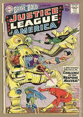 Brave and the Bold (1st Series DC) #29 1960 GD 2.0