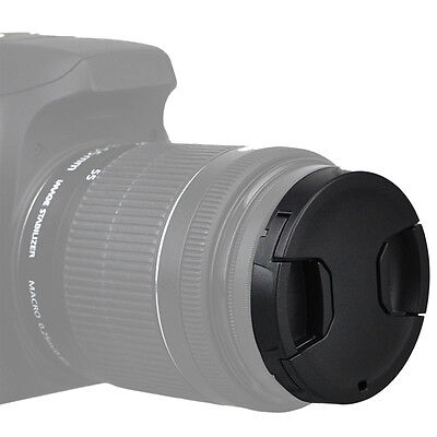 KIWI 49mm Snap-on Center Pinch Front Lens Filter Cap Cover for Sony Canon Nikon
