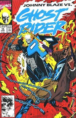 Ghost Rider (2nd Series) #14 1991 FN Stock Image