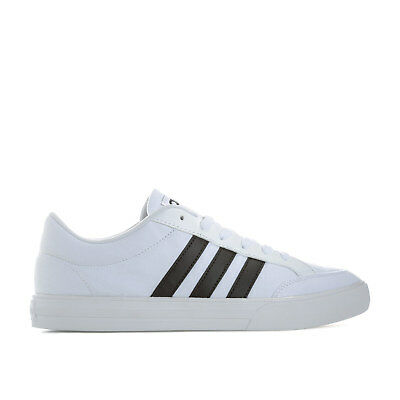 online store f3e91 6e45d Mens adidas Neo Tennis Vs Set Trainers In White Black From Get The Label