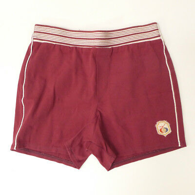 Vintage The EXPANDABLES Maroon Red by JANTZEN Swim Swimwear Shorts Trunks (S)