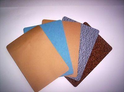 D.I.Y GASKET PAPER - MATERIAL STARTER PACK (5 assorted sheets 270x230mm)