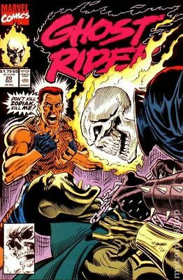 Ghost Rider (2nd Series) #20 1991 FN Stock Image