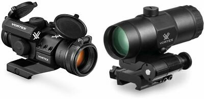 Vortex StrikeFire II Red Dot, 4 MOA Red Dot with 3x Magnifier : SF-BR-503-KIT1