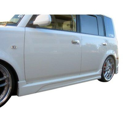 For 08-13 Scion XB ABS Side Skirt Skirts Extension Rockers Bottom Line Panels