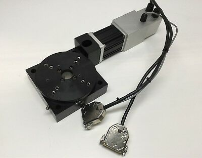 Parker 20505-RTPH1 Rotary Table Stage Actuator Screw Positioner w/ BMS60 Motor