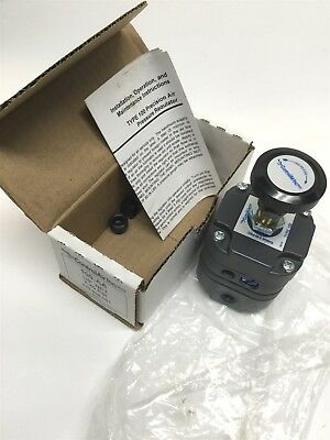 """New ControlAir 100-AA Precision Air Pressure Regulator 1/8"""" NPT, 2 to 40 psi Out"""