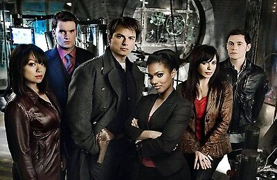 """Dr Doctor Who Imported 17"""" X 11"""" Print Poster - Torchwood Cast (John Barrowman)"""