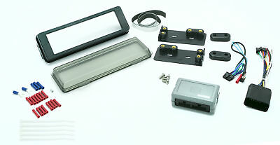Scosche Single Din Radio Install Kit For 98-13 Harley Touring Models HD9813BN