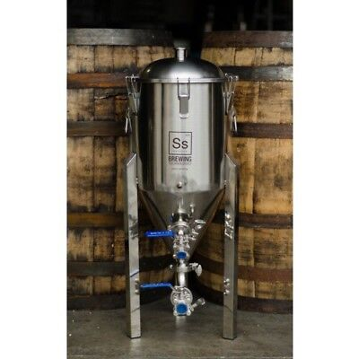 Ss Brew Tech 7 Gallon Steel Conical Fermenter - Chronical Fermenter