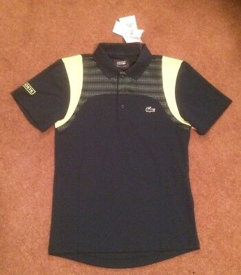 7a6d6bc2f Lacoste Sport Ultra Dry Mens Polo Shirt Top T-shirt Size US XS FR2 Bnwt