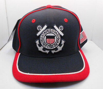 UNITED STATES COAST Guard Retired Hat Ball Cap Uscg Proudly Served ... b29bdb82a148
