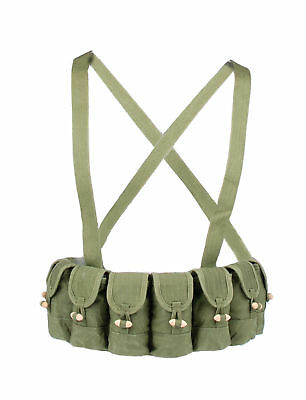 Surplus Chinese Military Type 56 Semi Ammo Chest-Rig Bandolier Pouch-31165