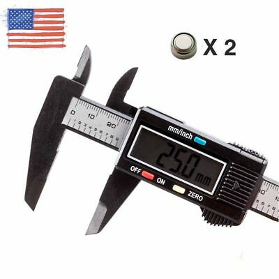 150mm / 6inch LCD Digital Electronic Gauge Vernier Caliper Micrometer Ruler new