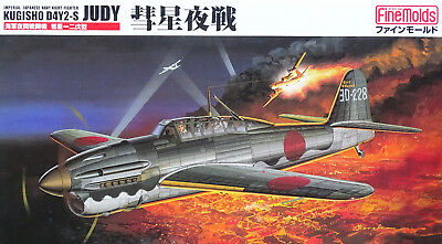 FINE MOLDS® FB5 IJN Night Fighter Kugisho D4Y2-S Judy in 1:48