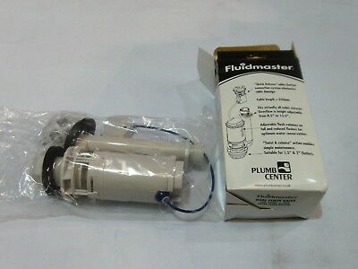 Fluidmaster PRO750UK LEVER Operated Cable Dual Flush Valve Save WATER now by Fluidmaster