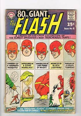 Eighty Page Giant # 4 Around the World in 80 Mins ! Flash ! grade 3.0 scarce !!
