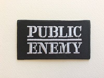 M087 // Ecusson Patch Aufnaher Toppa / Neuf / Public Enemy 8*4 Cm