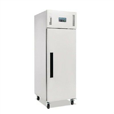 Polar Single Door Freezer Stainless Steel 600Ltr - G593 Catering Commercial