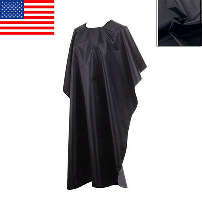 Black Hair Cutting Hairdressing Cape Salon Barber Gown Cover Large High Quality