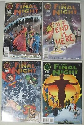 Complete Set Of The Final Night #1-4 Dc Limited Series 1996 Immonen Marzan