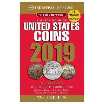 2019 Official Red Book of United States Coins - Hidden Spiral: The Official Red