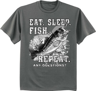 b3c704c0f Big and Tall t-shirt for men funny bass fishing decal tee fathers day gift