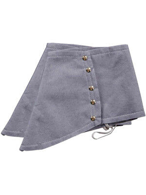 Adult Roaring 20s Gangster Costume Grey Fabric Spats