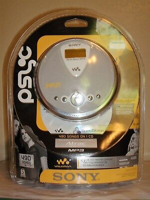 Sony D-NE300 Spark Gray ATRAC/MP3 CD Portable Personal CD Player-New & Sealed