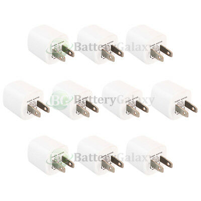 10X USB Mini Wall Charger for Android Phone Samsung Galaxy S9 / S9+ / S9 Plus