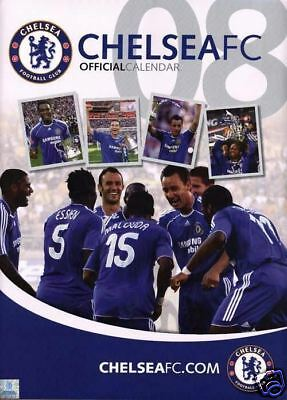 Chelsea FC Official Calendario 2008 (Nuevo + embalaje original) Cole / Terry