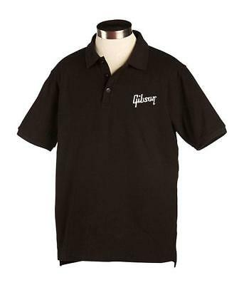 Bequemes comfort fit Gibson Logo Männer Polo T-Shirt aus 100% Baumwolle in Small