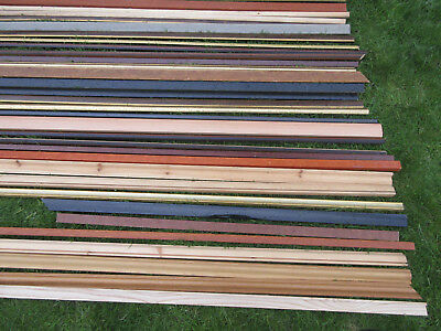 BUNDLE 20+ LENGTHS Picture Frame Mouldings Assorted Finishes ...