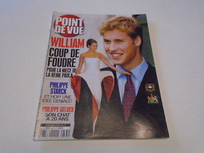 Point De Vue N°2883 William Coup Foudre - Albert Paola Visite Bulgarie     2003